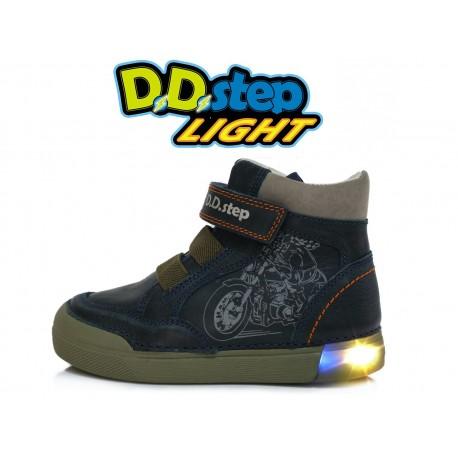 Tamsiai mėlyni LED batai 25-30 d. 068352AM