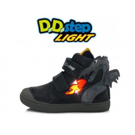 Tamsiai mėlyni LED batai 25-30 d. 049234AM