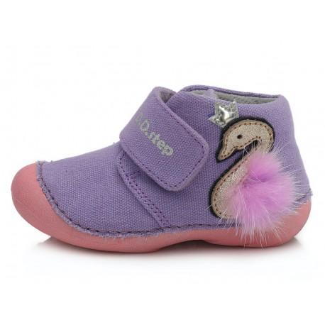Violetiniai canvas batai 19-24 d. C015235