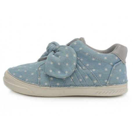 Šviesiai mėlyni canvas batai 31-36 d. C04047L