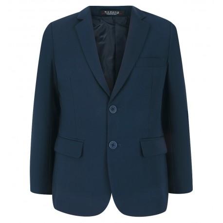 158-182 klasikinis mėlynas švarkas vaikinams į mokyklą NORMAL