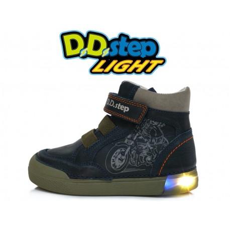 Tamsiai mėlyni LED batai 31-36 d. 068352AL