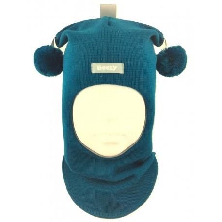 Žaisminga, dryžuota kepurė-šalmas su vilna berniukui 1401/25