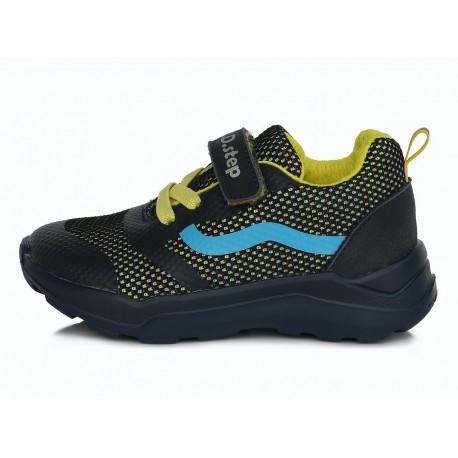 Tamsiai mėlyni sportiniai batai 24-29 d. F61626A