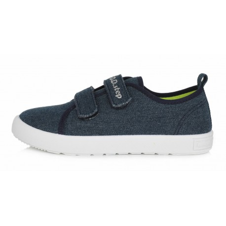 Mėlyni canvas batai 32-37 d. CSB142L