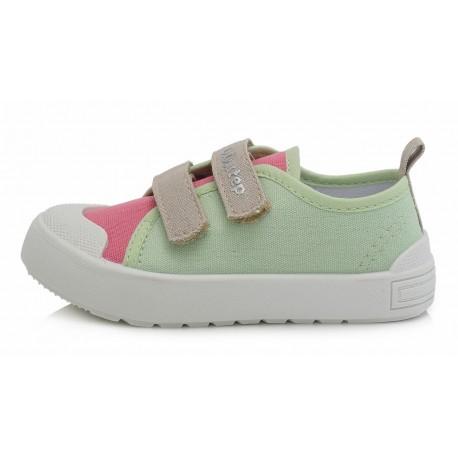 Žali canvas batai 23-25 d. CSG158