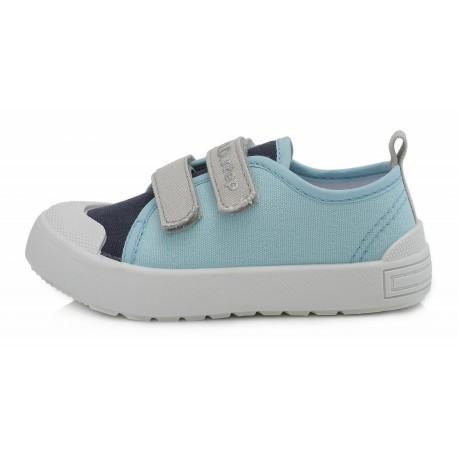 Šviesiai mėlyni canvas batai 26-31 d. CSB147AM