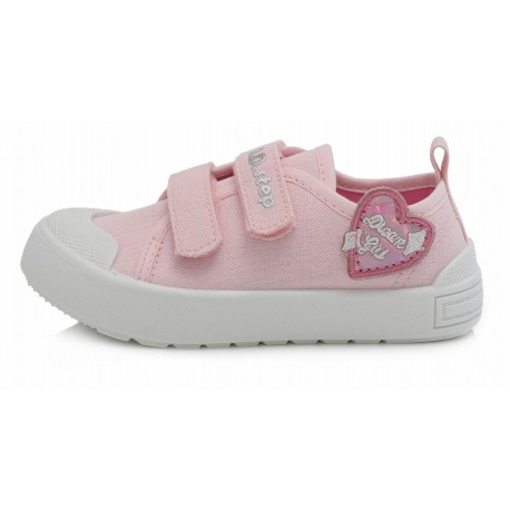 Šviesiai rožiniai canvas batai 26-31 d. CSG159M