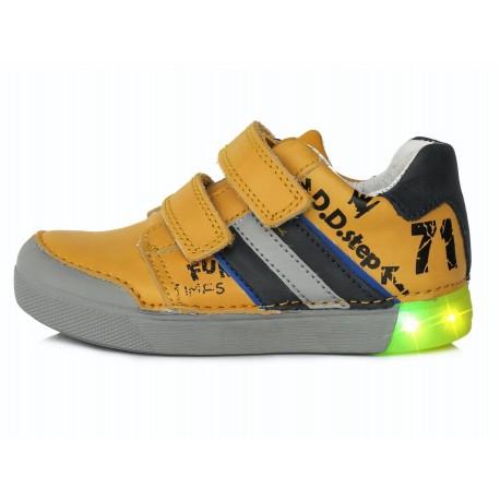 Geltoni LED batai 31-36 d. 06852AL