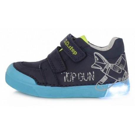Tamsiai mėlyni LED batai 25-30 d. 06845M