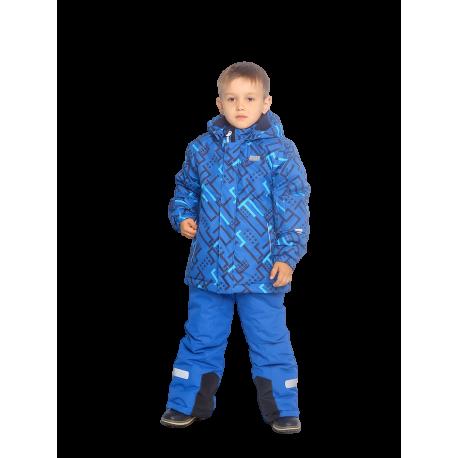 Mėlynas 2 dalių žieminis VALIANLY kombinezonas 98-128