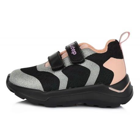 Juodi sportiniai batai 24-29 d. F61348CM