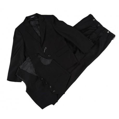 Juodas klasikinis kostiumas berniukui