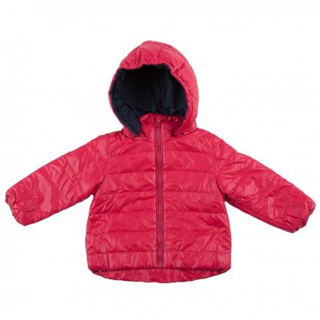 Rožinė striukė pavasariui-rudeniui mergaitei MSTR10017