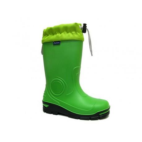Žali guminiai batai 29-36 d. 33-487-ZIELONY