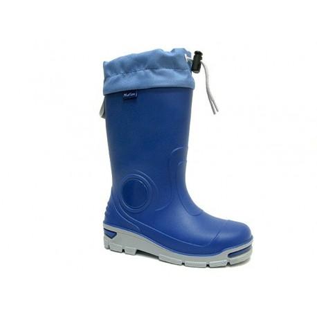 Mėlyni guminiai batai 21-28 d. 23-487-chaber