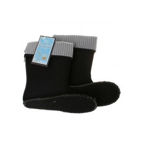 Šiltos guminių batų kojinės vaikams 21-28 d. KMUFLON-33