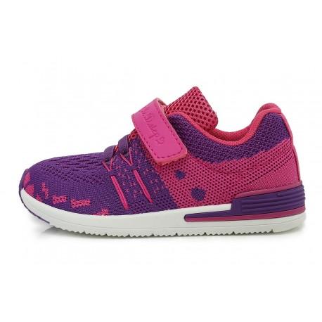 Violetiniai sportiniai bateliai 26-31 d. CSG-078CM