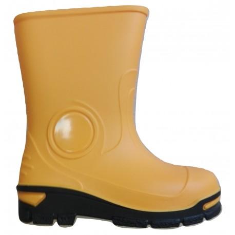 Geltoni guminiai batai 21-28 d. 23-465-zolty