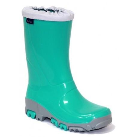 Žali guminiai batai 21-28 d. 23-492-TURKUS