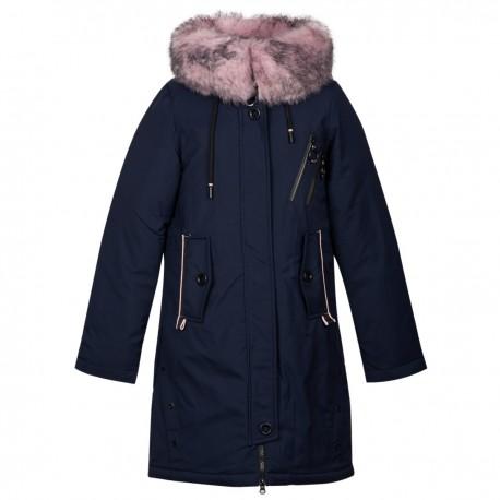 Mėlyna žieminė striukė-paltas Black&Red MSTR10024