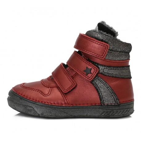 Bordiniai batai su pašiltinimu 31-36 d. 040432BL