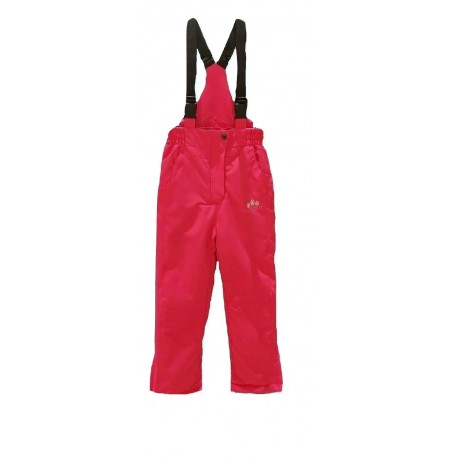 Rožinės kombinezoninės kelnės 110-134 cm. KALBORN KK10020
