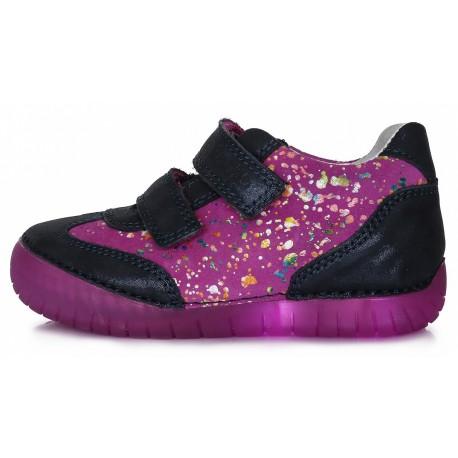 Violetiniai LED batai 31-36 d. 0504BL