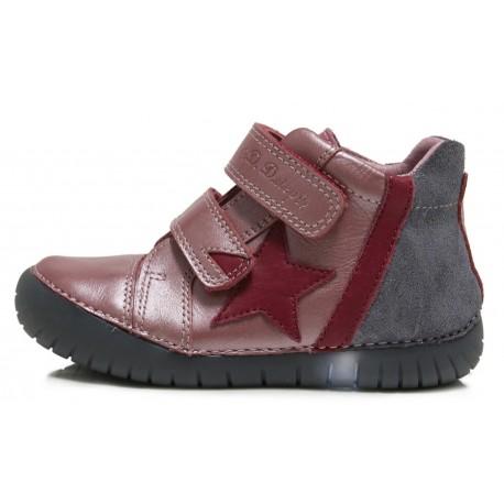 Rožiniai LED batai 25-30 d. 0507EM