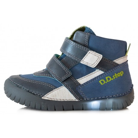 Mėlyni LED batai 25-30 d. 0506BM