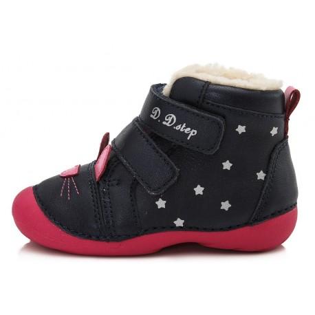 Tamsiai mėlyni batai su pašiltinimu 20-24 d. 015190B