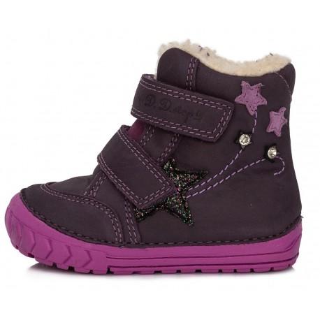 Violetiniai batai su pašiltinimu 20-24 d. 029310