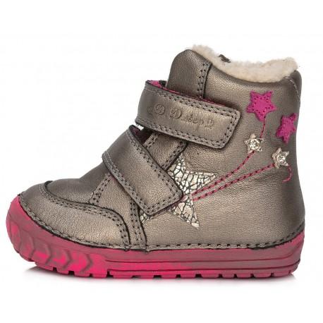 Auksinės spalvos batai su pašiltinimu 20-24 d. 029310A