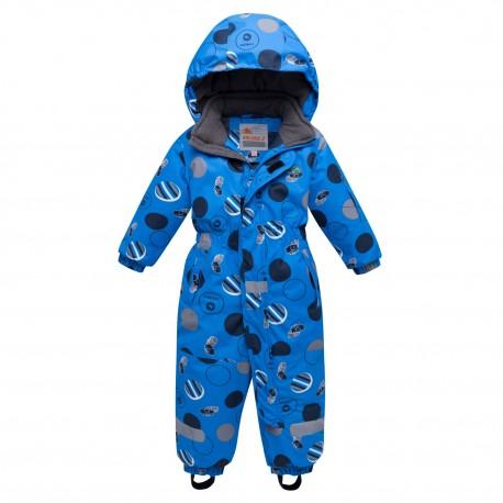 Vientisas mėlynas žieminis VALIANLY kombinezonas berniukui 8905/a