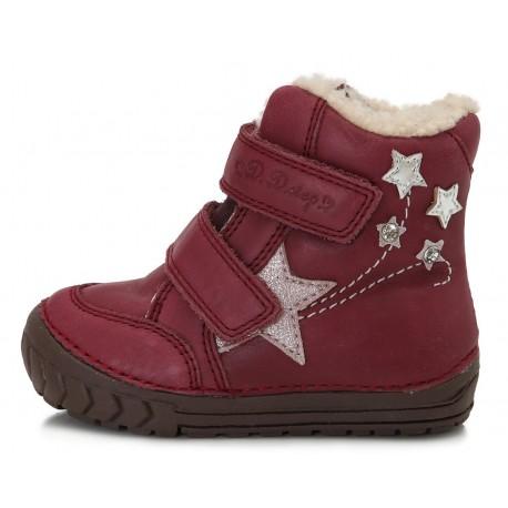Raudoni batai su pašiltinimu 20-24 d. 029310B