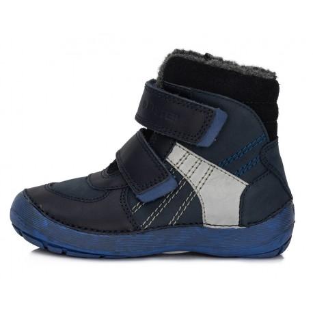 Tamsiai mėlyni batai su pašiltinimu 25-30 d.023804M
