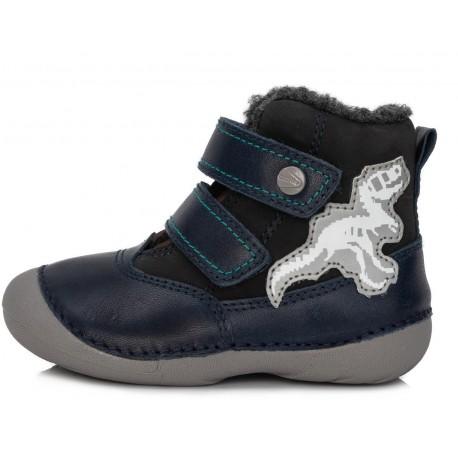 Tamsiai mėlyni batai su pašiltinimu 20-24 d. 015188B