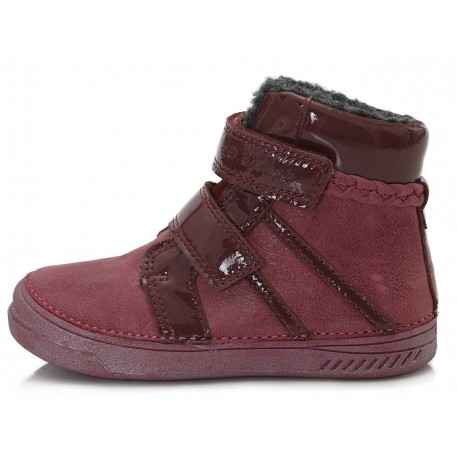 Bordiniai batai su pašiltinimu 31-36 d. 040446BL