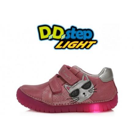 Rožiniai LED batai 25-30 d. 05017CM