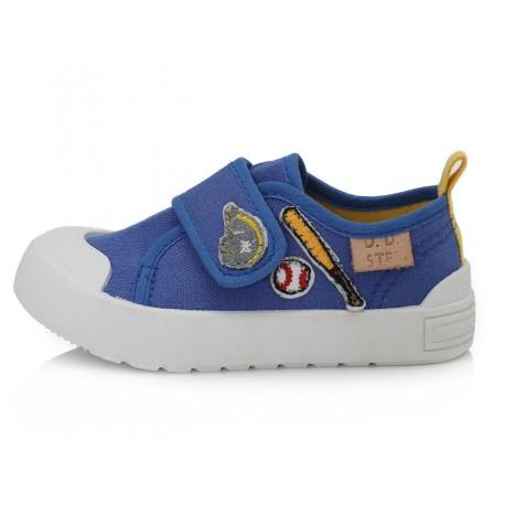 Mėlyni canvas batai 20-25 d. CSB136