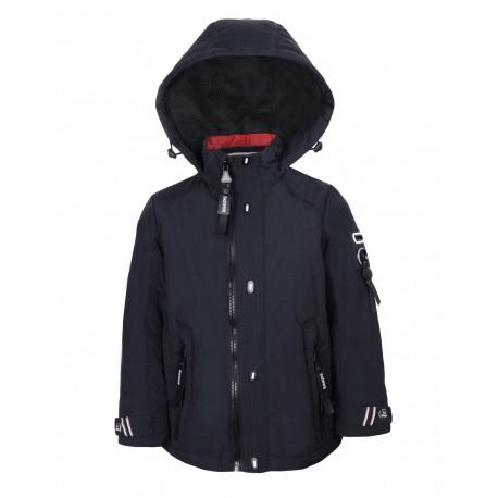 Tamsiai mėlyna VENIDISE striukė pavasariui-rudeniui berniukui 8110