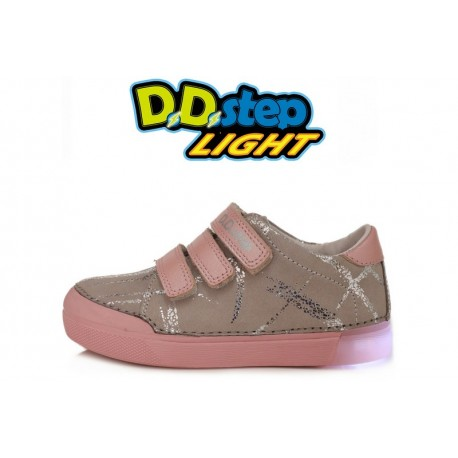 Pilki LED batai 31-36 d. 068470AL