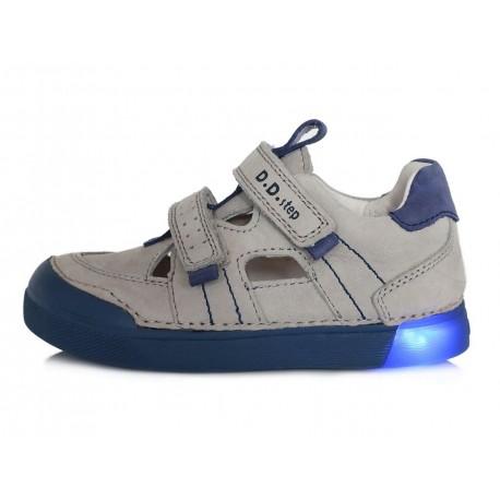 Šviesiai pilki LED batai 31-36 d. 068213AL