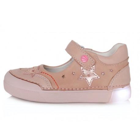 Rožiniai LED batai 31-36 d. 06851AL
